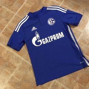 Adidas Gazprom soccer shirt size men's large